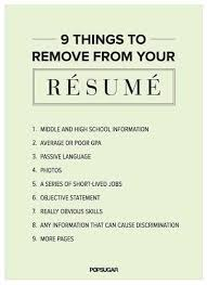 Things To Put On A Resume