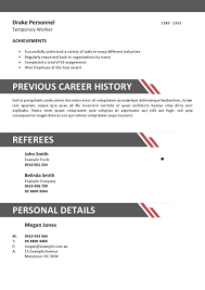 Sample Resume Format For Hotel Industry Resume Template Ideas
