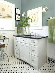 mesmerizing black and white hexagon tile bathroom small yet bright bathroom the white subway tile and