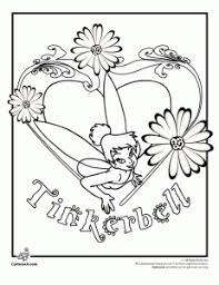 Small Picture Tinkerbell Coloring Pages