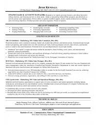 Job Resume Free Restaurant Manager Examples Template Sales Account