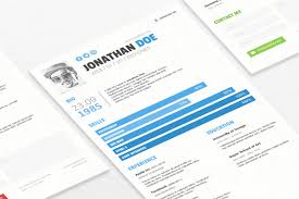 Minimalist Resume The Best CV Resume Templates 100 Examples Design Shack 57