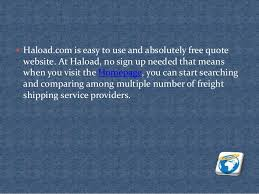 Shipping Quotes Simple Freight Shipping Quotes Online