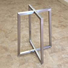 metal home furniture. Stainless Steel Table Base Metal Home Furniture A