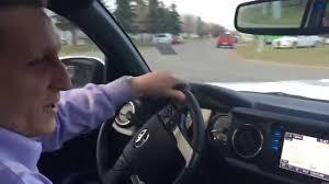 2016 Double Cab Toyota Tacoma 6 speed manual transmission Test ...