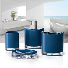 modern bathroom accessories sets. Optic 4-Piece Bathroom Accessory Set Modern Accessories Sets