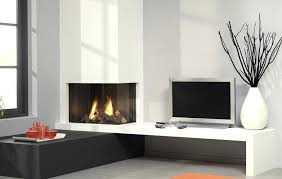 modern fireplace tv stand image of corner white electric