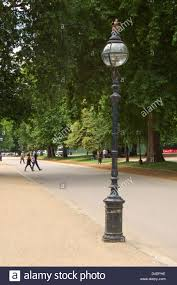 Image result for lamp post in a park