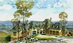 New South Classics  Classic  Old World PlansCliffs at Glassy French Country House Plan by New South Classics