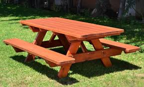 a sy picnic table for your family and friends