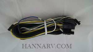 shorelander lights and wiring hanna trailer supply oak creek shorelander 5110590 harness tongue 5 wire fg light