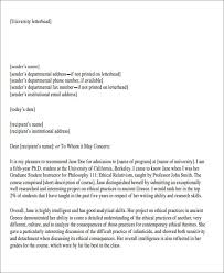 Template Letter Of Recommendation Letters Of Recommendation Format Big Letter Formal Letter Of