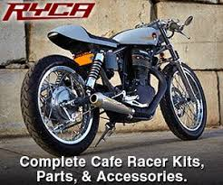 parts and accessories for your cafe racer motorcycles
