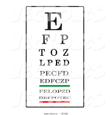 Eye Chart Vector At Getdrawings Com Free For Personal Use