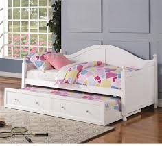 white twin daybed with trundle. Unique Daybed Ava White Twin Daybed With Trundle Throughout With N