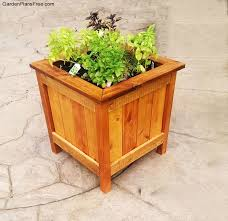 box garden plans. diy cedar planter box garden plans o