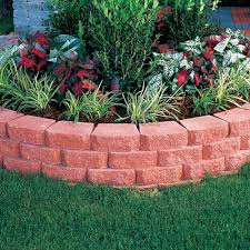 red anchor windsor stone retaining wall block pavestone 81151 pavestone 81151