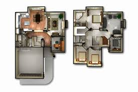 4 bedroom house plans 3d fresh 2 story 3d floor plan and bedroom house plans storymodern
