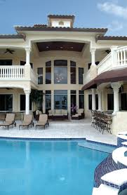 Painters Hill Luxury Home Plan S    House Plans and MoreFlorida House Plan Pool Photo   S    House Plans and More