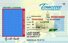 Id Identification Template Fake Scannable Buy Tennessee