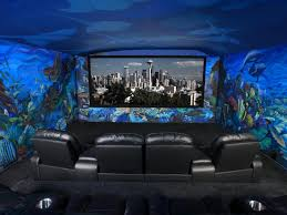 themed family rooms interior home theater: beam me up scotty walking into this unique home theater