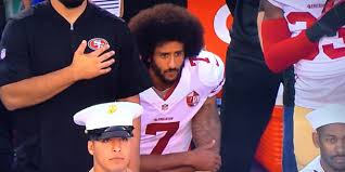Image result for nfl players kneel during anthem