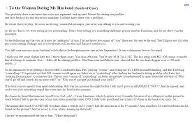 He Ll Revert To Booze Scorned Wife S Open Letter To Husband S