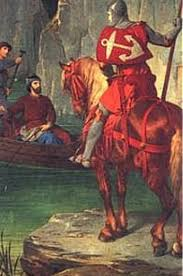 percival however is wearing red armor something we ve never seen him in before thus the story of the red knight