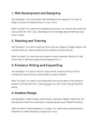 freelance designer description freelance description under fontanacountryinn com