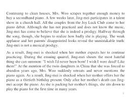 summary and theme two kinds by amy tan 2 3