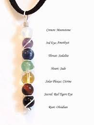 chakra balancing healing gemstone necklace yoga jewelry crystal healing wire wrapped pendant amulet talisman 25 00 jewelry vine interesting