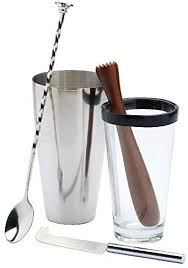Our kitchen utensils & gadgets category offers a great selection of barware tool sets and more. Amazon Com Kitchen Craft Mojito Cocktail Set Luxe Lounge Pack Of 2 Home Kitchen