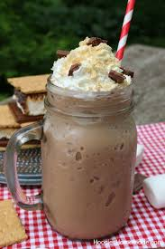 do you love s mores love iced coffee well i have a treat