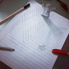 3d lines notepad drawings joao carvalho 27