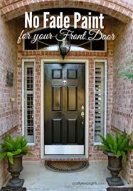 front door paintCrafty Texas Girls Painting your Front Door