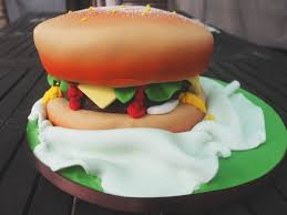 Burger Cake Design The Ultimate Burger Cake From Parteaz Cakes Fox Feather
