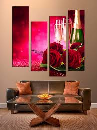 4 piece canvas photography red huge canvas print red rose multi panel canvas champagne group canvas champagne wall decor on red rose canvas wall art with 4 piece canvas photography red huge canvas print red rose multi