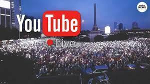 ไลฟ์สด ม็อบ 18 ตุลา ชุมนุมอนุสาวรีย์ประชาธิปไตย Live  กลุ่มผู้ชุมนุมตั้งแนวปะทะ - YouTube