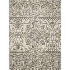 new casa aubosson grey 3 ft x 4 ft area rug