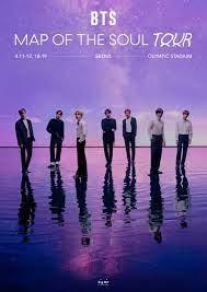 BTS เปิดตารางเวิลด์ทัวร์ 'Map of the Soul'! ในปี 2020 ยังไม่มีประเทศอาเซียน  และไทย – DUDEPLACE