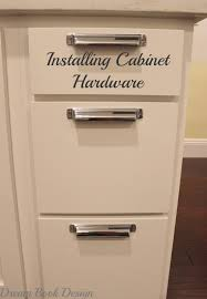 Installing Cabinets In Kitchen How To Install Kitchen Cabinet Hardware Tutorial Dream Book Design