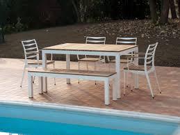 Viena Commercial Silver  Mocha Chair  Get OutsideAluminium Outdoor Furniture