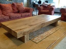 wood coffee table rustic