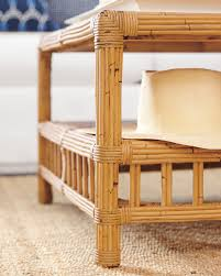 Coffee Table Rattan Bungalow Coffee Table Coffee Tables Serena And Lily
