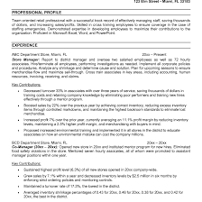 Convenience Store Manager Resume Examples Store Manager Sample Resume shalomhouseus 8