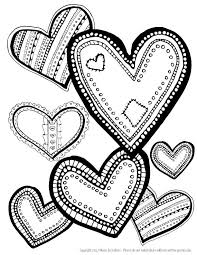 heart design coloring pages. Perfect Coloring Hearts Coloring Page Download  Para Colorear Pinterest Heart Patterns  Free Printable And Patterns Intended Design Pages H