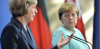 Image result for angela merkel with theresa may