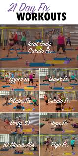 21 Day Fix Streaming Workouts Anywhere Anytime The