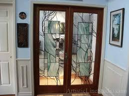 glass panel interior door photo 6