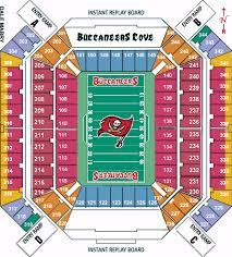 Raymond James Stadium Seating Chart Tampabay Bucs Tickets